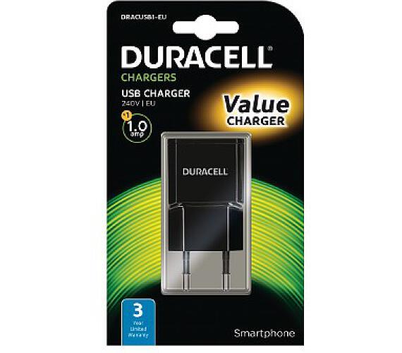 Duracell - USB Nabíječka pro čtečky & telefony 1A (DRACUSB1-EU)