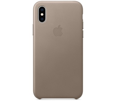 iPhone XS Max Leather Case - Taupe (MRWR2ZM/A)