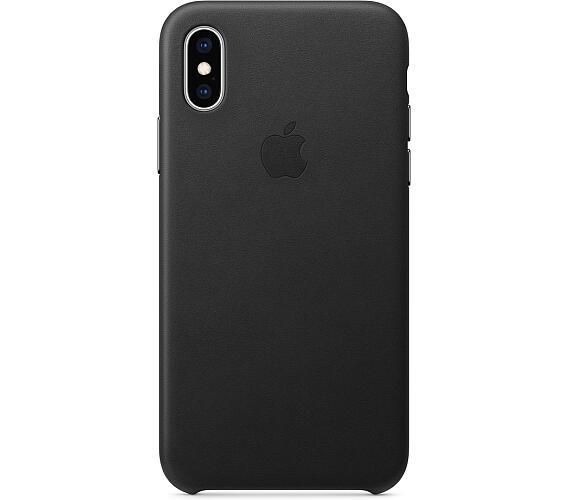iPhone XS Max Leather Case - Black (MRWT2ZM/A)