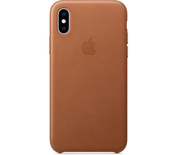 iPhone XS Max Leather Case - Saddle Brown (MRWV2ZM/A)