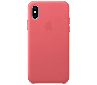 iPhone XS Max Leather Case - Peony Pink (MTEX2ZM/A)
