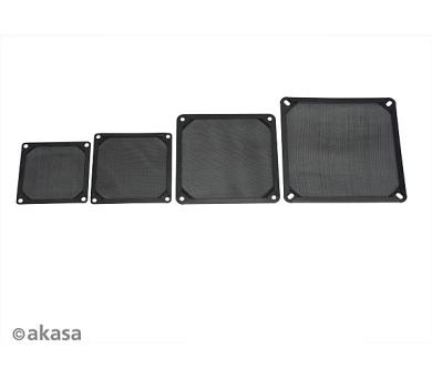 AKASA 14cm Aluminium fan filter (GRM140-AL01-BK)