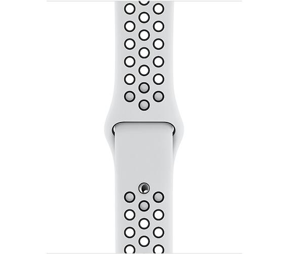 Watch Acc/44/Pure Platinum/Black Nike Sport Band (MTMY2ZM/A)