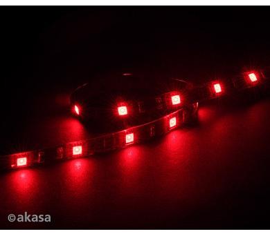 AKASA - LED páska-magnetická - červená Vegas M (AK-LD05-50RD)