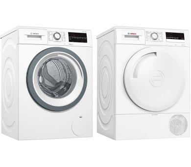 SET Pračka Bosch WAT28480CS Serie 6 + Sušička Bosch WTR83V10BY