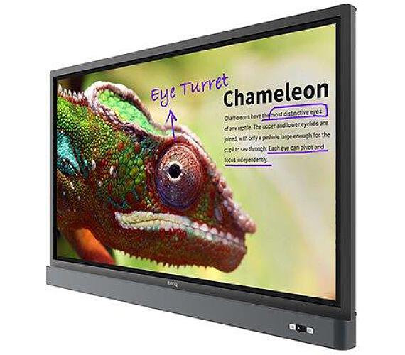 "BenQ LCD RM6501K 65"" LED/3840x2160/1200:1/450 cd/m2/10-point touch/D-Sub/4xHDMI/4xUSB/RS232/RJ45/VESA/Low Blue Light (9H.F4PTK.DE2)"