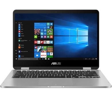 "ASUS VivoBook Flip TP401MA - 14T""/N5000/64GB/4G/W10S šedý (TP401MA-EC012TS)"