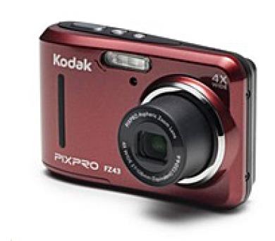KODAK Friend zoom FZ43 Red / repas (KOFZ43RD)
