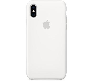 iPhone XS Silicone Case - White (MRW82ZM/A) + DOPRAVA ZDARMA