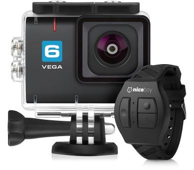 Akční kamera Niceboy® VEGA 6 + dálkové ovládání + DOPRAVA ZDARMA