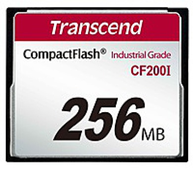 TRANSCEND Industrial Compact Flash Card CF200I 256MB