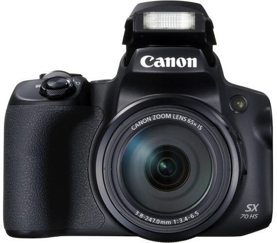 Canon PowerShot SX70 HS Black - 20MP