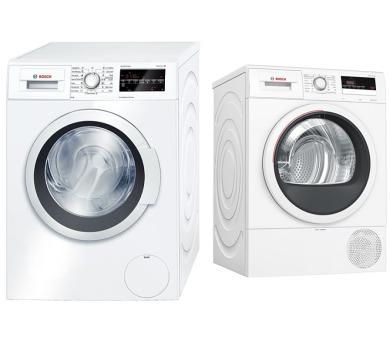 Bosch WAT24460BY + Sušička prádla Bosch WTR85V10BY kondenzační