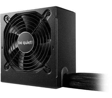 Be quiet! / zdroj SYSTEM POWER 9 500W / active PFC / 120mm fan / 80PLUS Bronze (BN246) + DOPRAVA ZDA