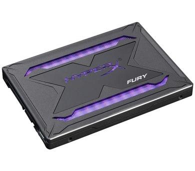 """Kingston 480G HyperX Fury SHFR SATA3 2.5"""" RGB (SHFR200/480G) + DOPRAVA ZDARMA"""