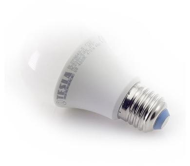 TESLA LED žárovka BULB/ E27/ 6W/ 230V/ 470lm/ 4000K/ studená bílá (BL270640-5)