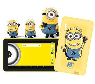 eSTAR Beauty HD 7 WiFi gsm tel. Minions - Mimoni