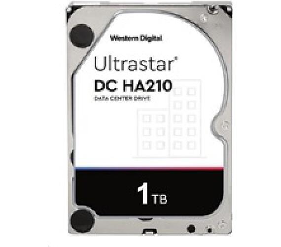 Western Digital Ultrastar® HDD 1TB (HUS722T1TALA604) DC HA210 3.5in 26.1MM 128MB 7200RPM SATA 512N SE (GOLD WD1005FBYZ) (1W10001)