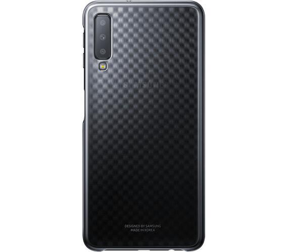 Samsung Gradation kryt pro Galaxy A7 2018 Black (EF-AA750CBEGWW)