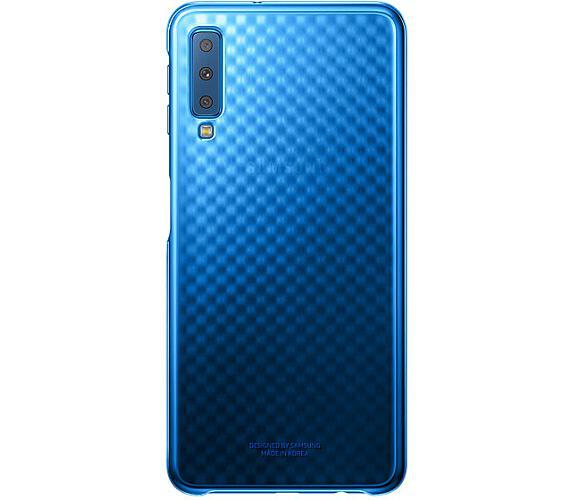 Samsung Gradation kryt pro Galaxy A7 2018 Blue (EF-AA750CLEGWW)