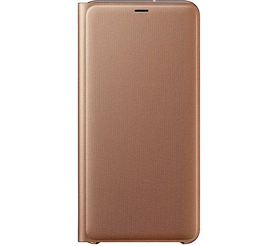 Samsung Flipový kryt pro Galaxy A7 2018 Gold (EF-WA750PFEGWW) + DOPRAVA ZDARMA