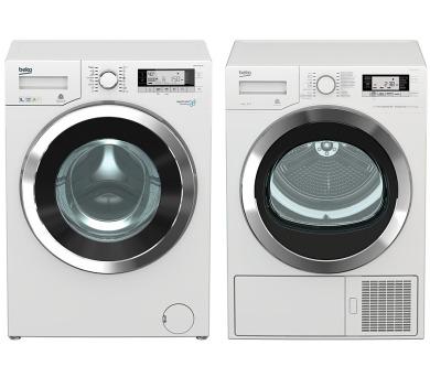 SET Pračka BEKO WMY 91443 LB1 + Sušička Beko DE 8635 CSDRX0