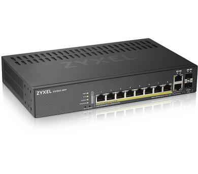 ZyXEL 8xGb 2xRJ/SFP 2xSFP POE GS1920-8HPV2 (GS1920-8HPV2-EU0101F) + DOPRAVA ZDARMA