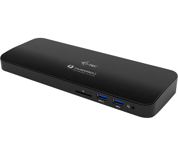 i-tec Thunderbolt 3 Dual 4K Docking Station + USB-C to DisplayPort Adapter + Power Delivery 85W (TB3HDMIDOCKPLUS) + DOPRAVA ZDARMA