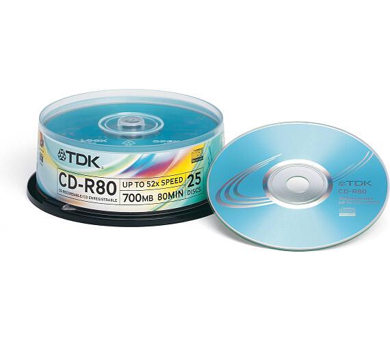 TDK CD-R80 25Cakebox