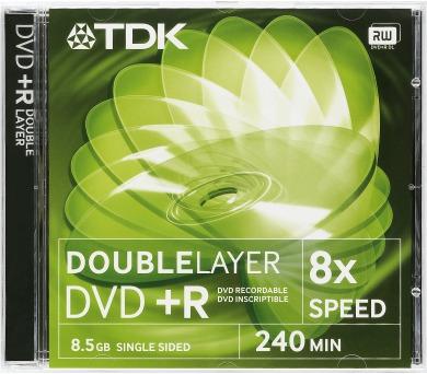 TDK DVD+R DL 8.5GB 8x