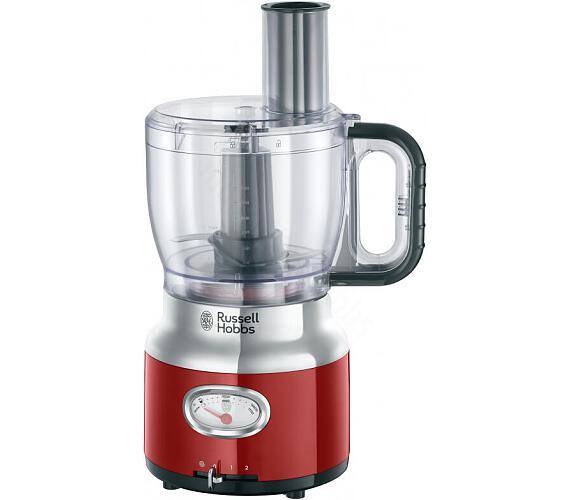 Russell Hobbs Retro Red kuchynský robot 25180-56 + DOPRAVA ZDARMA