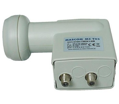 Mascom MC-T02HD TWIN universal Mascom