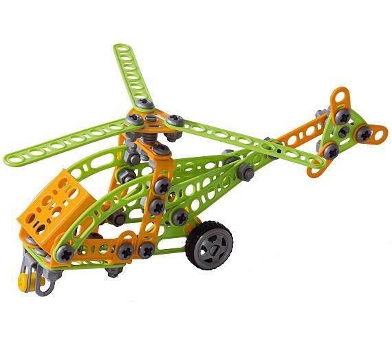 Seva Mechanik Hugo staví Vrtulník s nářadím 130 dílků