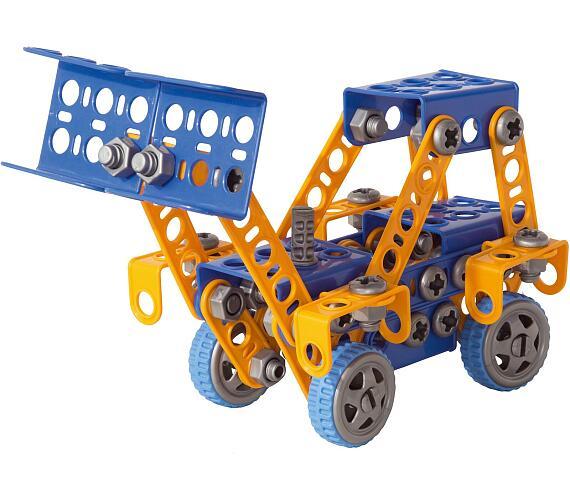 Seva Mechanik Hugo staví Bagr s nářadím 141 dílků
