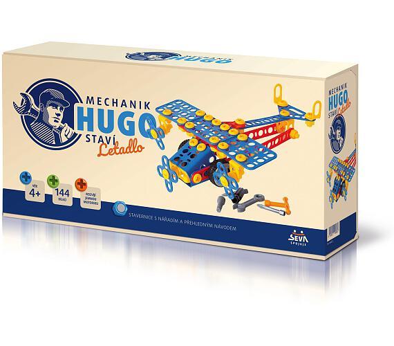 Seva Mechanik Hugo staví Letadlo s nářadím 144 dílků