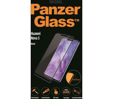 PanzerGlass Edge to Edge pro Huawei nova 3 černá + DOPRAVA ZDARMA