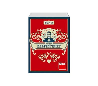 Karetní triky společenská hra v krabici 12x16x5cm