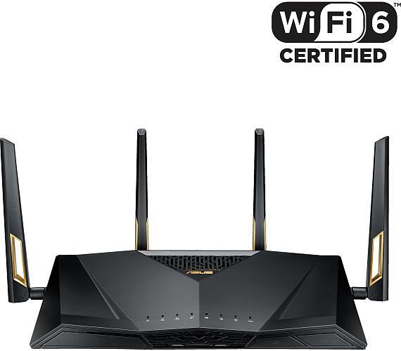 ASUS Wireless-AX6000 Dual Band Gigabit Router RT-AX88U (90IG04F0-MN3G00) + DOPRAVA ZDARMA