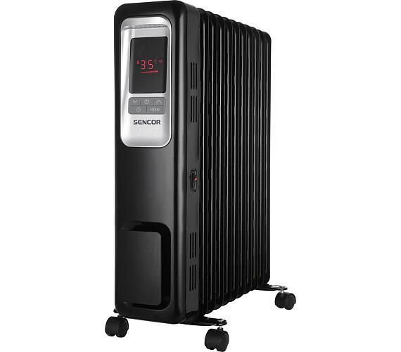 SOH 6111BK olejový radiátor Sencor + DOPRAVA ZDARMA