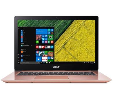 """Acer Swift 3 - 14""""/i3-7130U/8G/256SSD/W10 růžový (NX.GPJEC.005)"""
