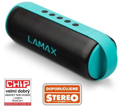 Lamax MusiCan1 Turquoise + DOPRAVA ZDARMA