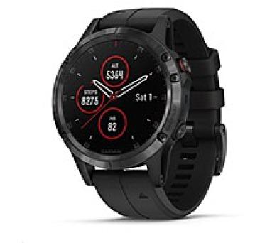 Garmin GPS sportovní hodinky fenix5 Plus Sapphire Black