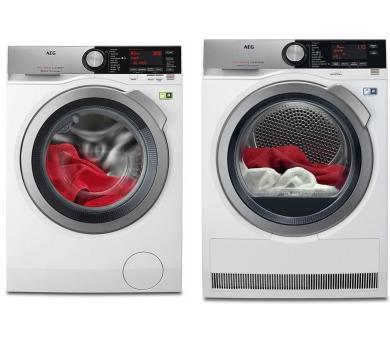 AEG ÖKOMix® L8FEC68SC + Sušička prádla AEG T8DBC49SC + DOPRAVA ZDARMA