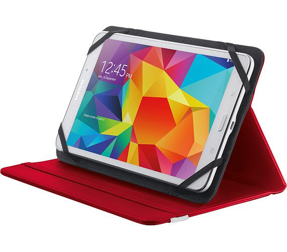 "TRUST Primo Folio Case with Stand for 7-8"" tablets - red (20314)"