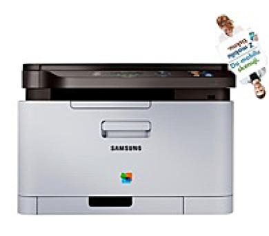 Samsung Xpress SL-C480W Color Laser Multifunction Printer - Poškozený BOX (SS257C#EEE//BAZAR)