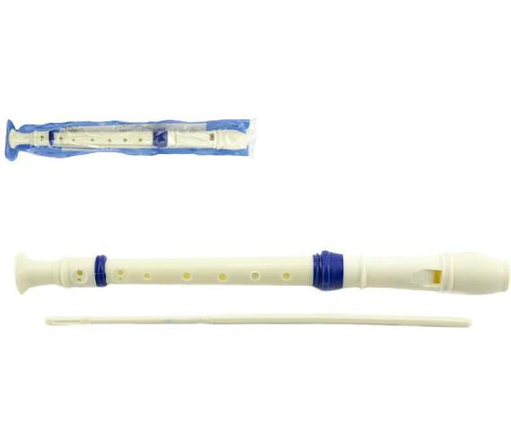 Flétna plast 33cm s čistítkem v plastovém obalu