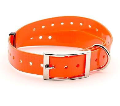 Plastový obojek oranžový