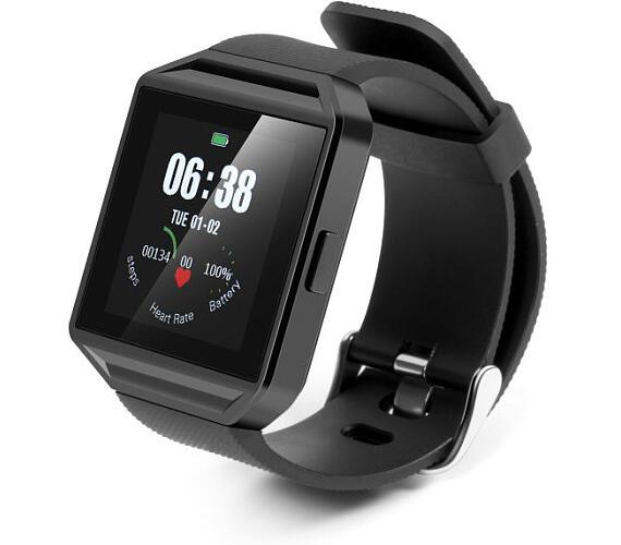 Technaxx TrendGeek Smartwatch s měřením tepové frekvence (TG-SW2HR) (4782) + DOPRAVA ZDARMA
