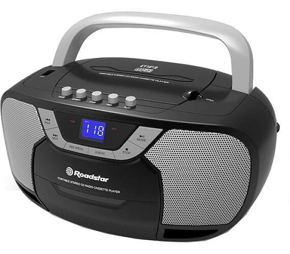 Roadstar RCR-4625U/BK Radiomagnetofon s CD