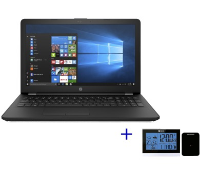 HP 15-bs150nc i3-5005U/4GB/500GB/DVD/W10-Black+stanice (3XY13EA#BCM)